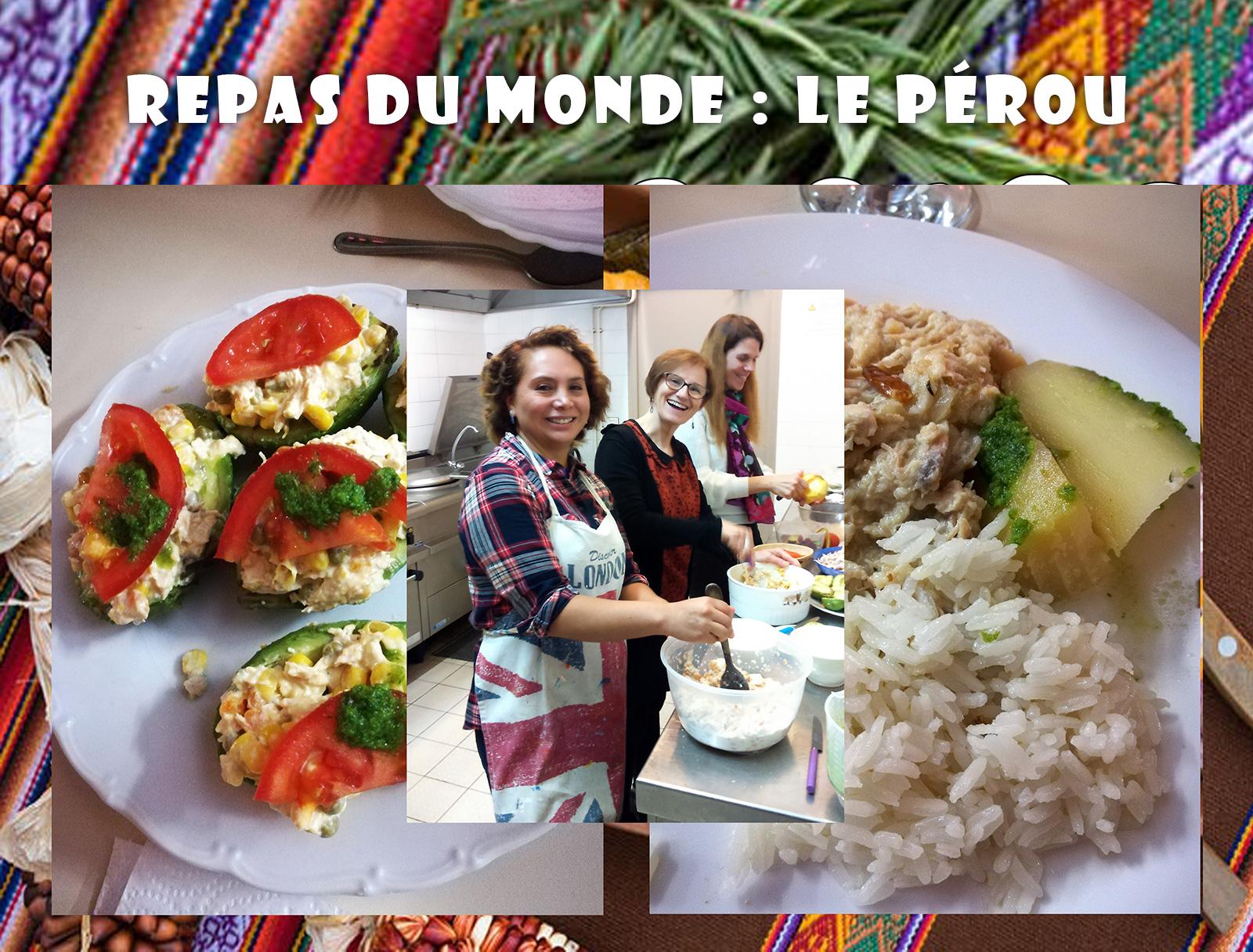 Repas du monde à La Chapelle-Thouarault thème Le Pérou 15-11-2018